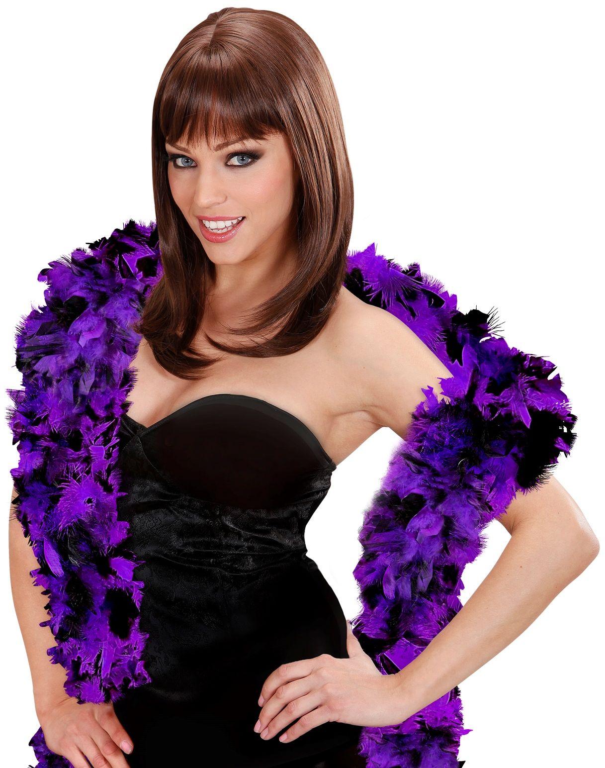 Boa paars-zwart