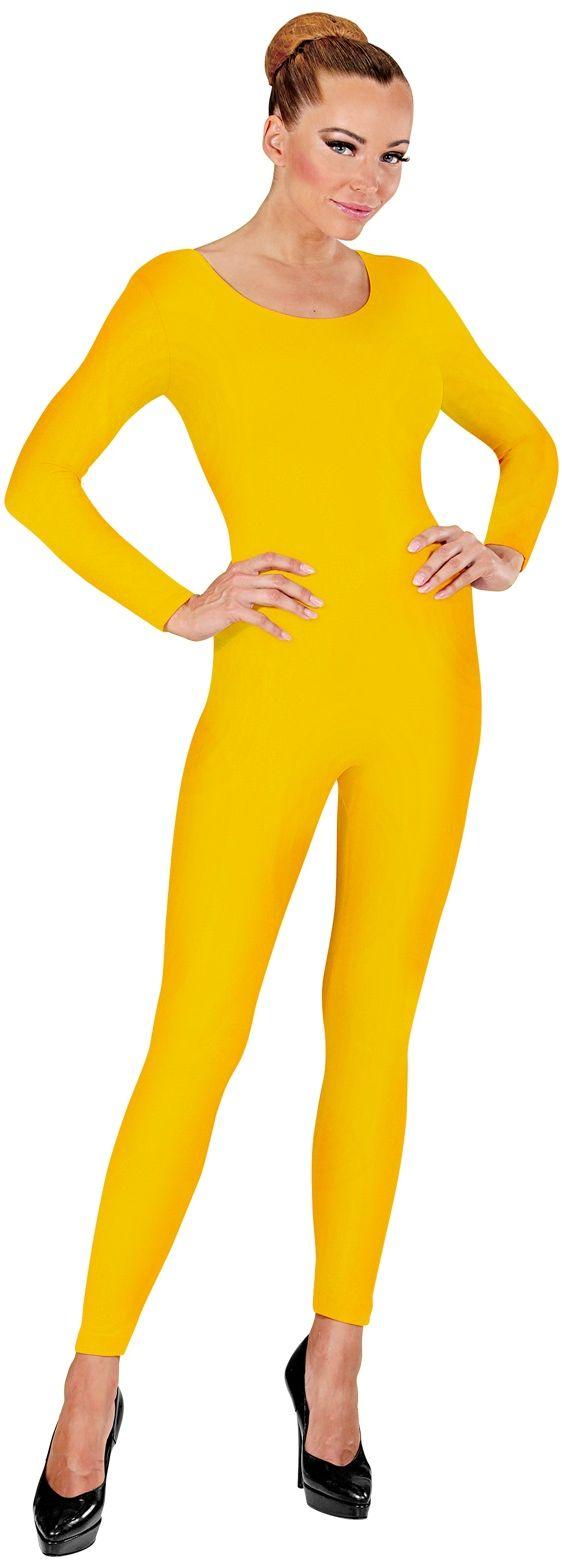 Bodysuit geel
