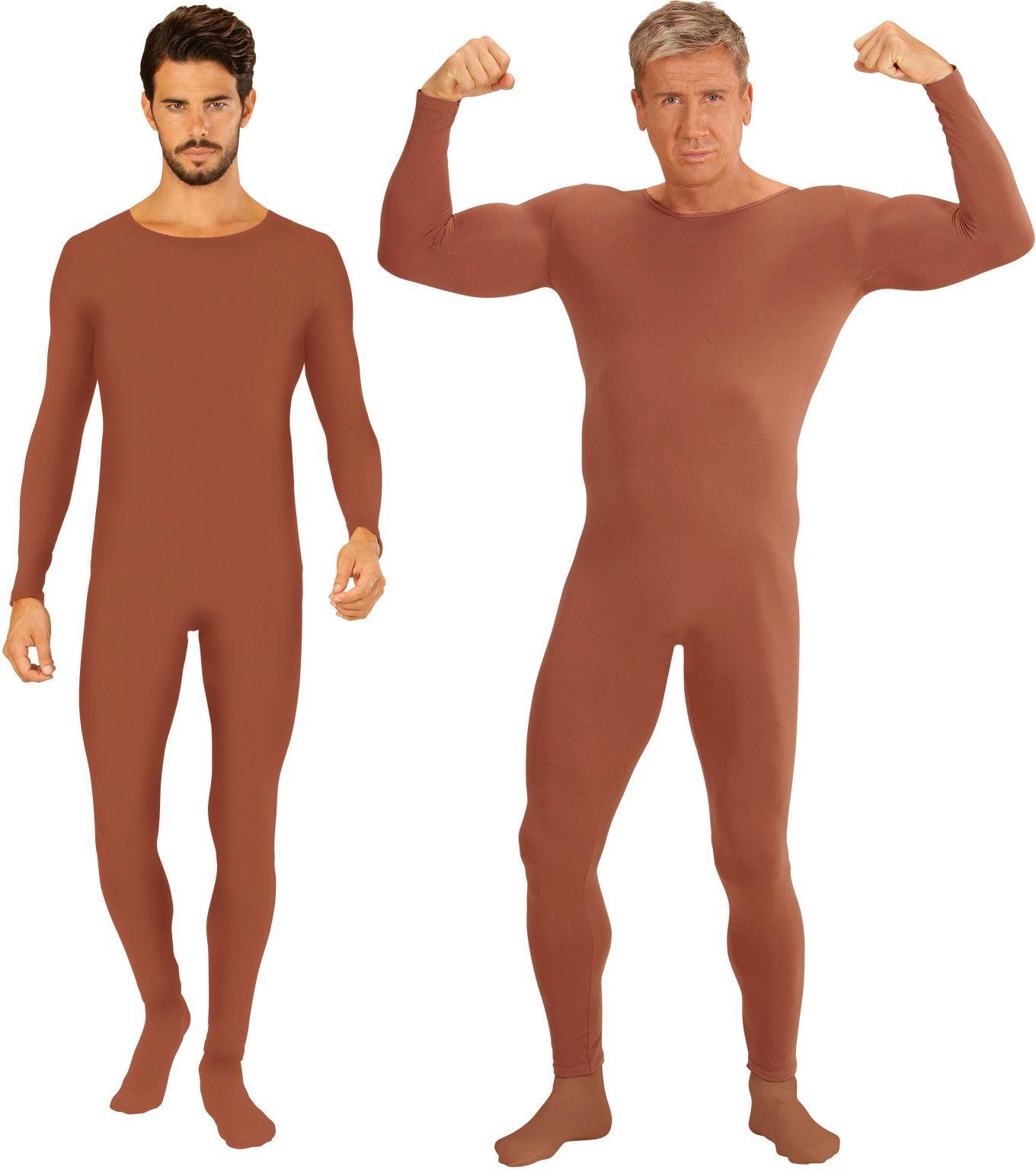 Bodysuit heren huidskleur