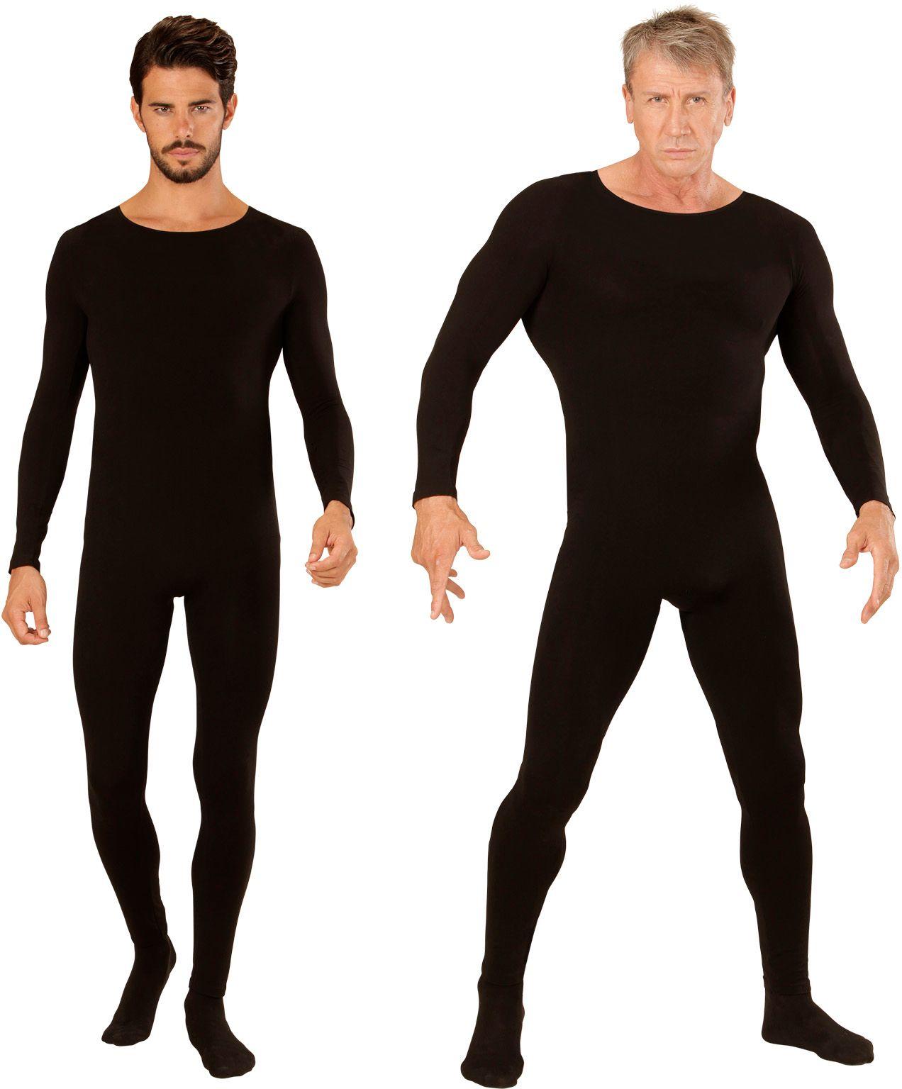 Bodysuit heren zwart