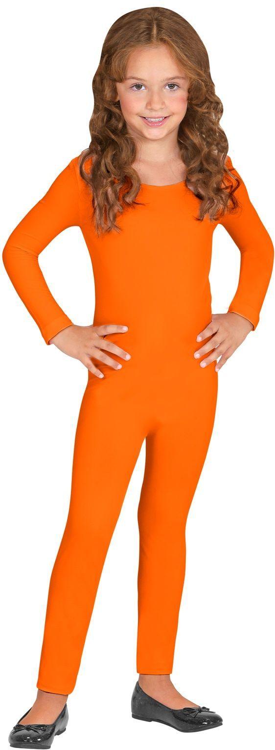 Bodysuit kind oranje