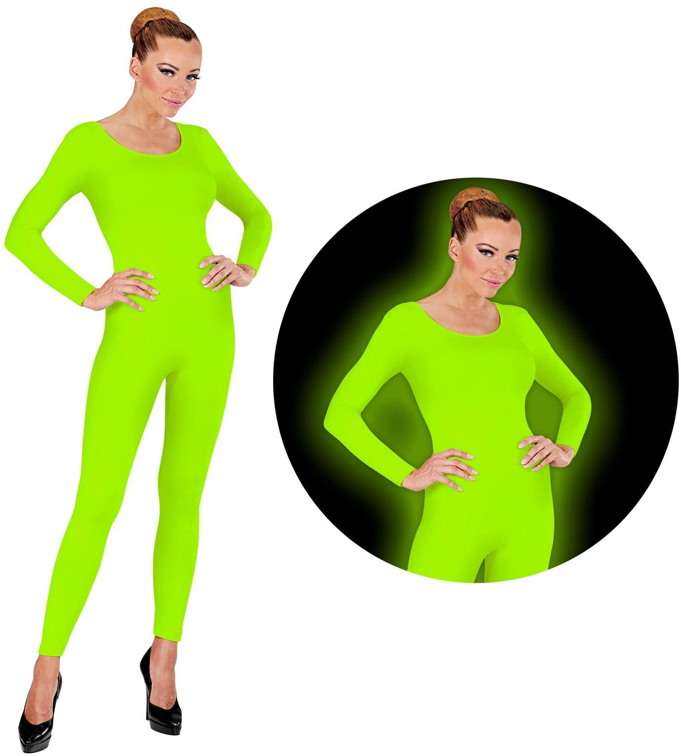 Bodysuit neon groen