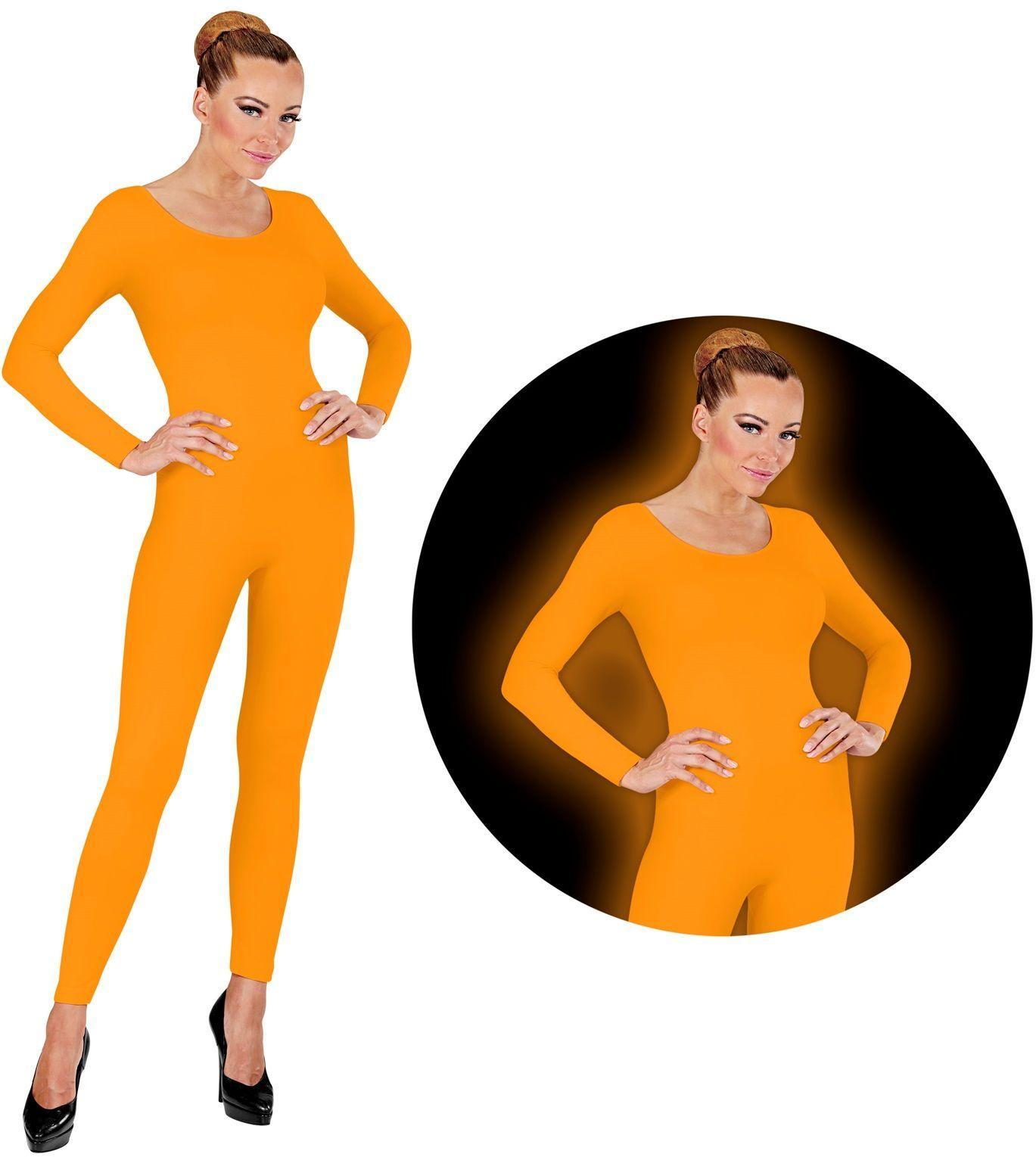 Bodysuit neon oranje