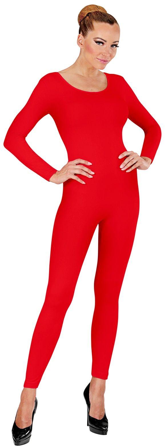 Bodysuit rood