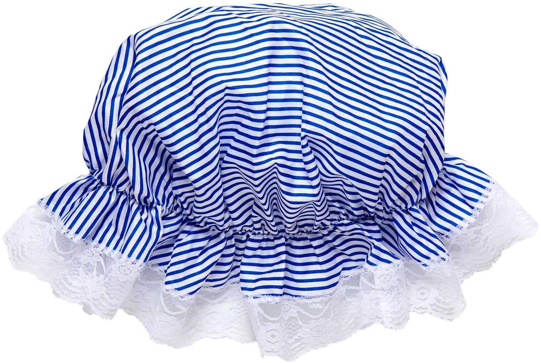 Bonnet blauw wit