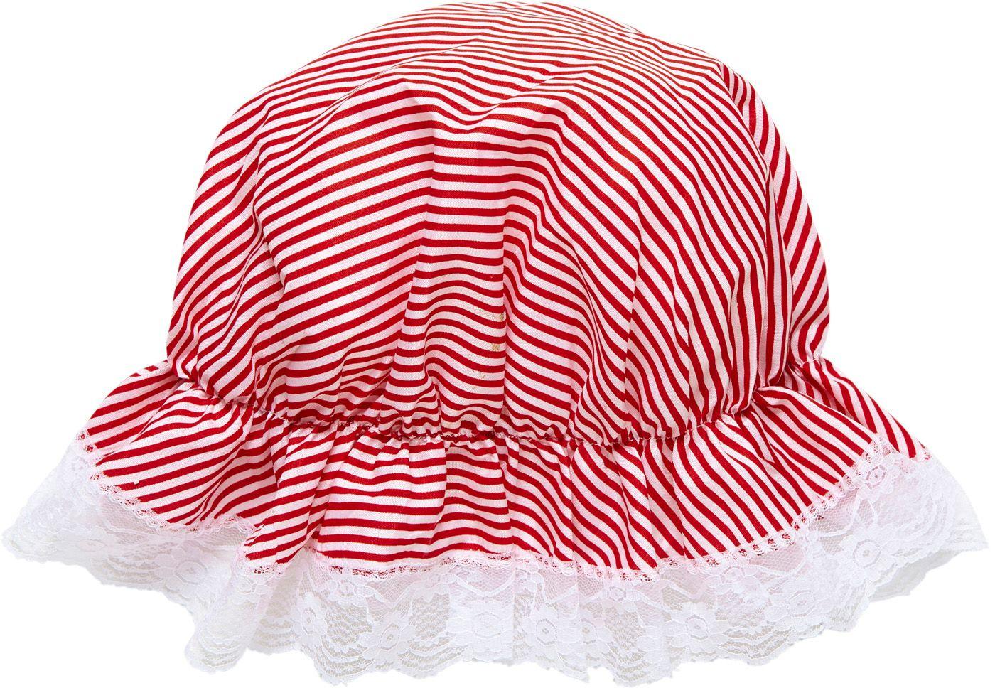 Bonnet rood wit