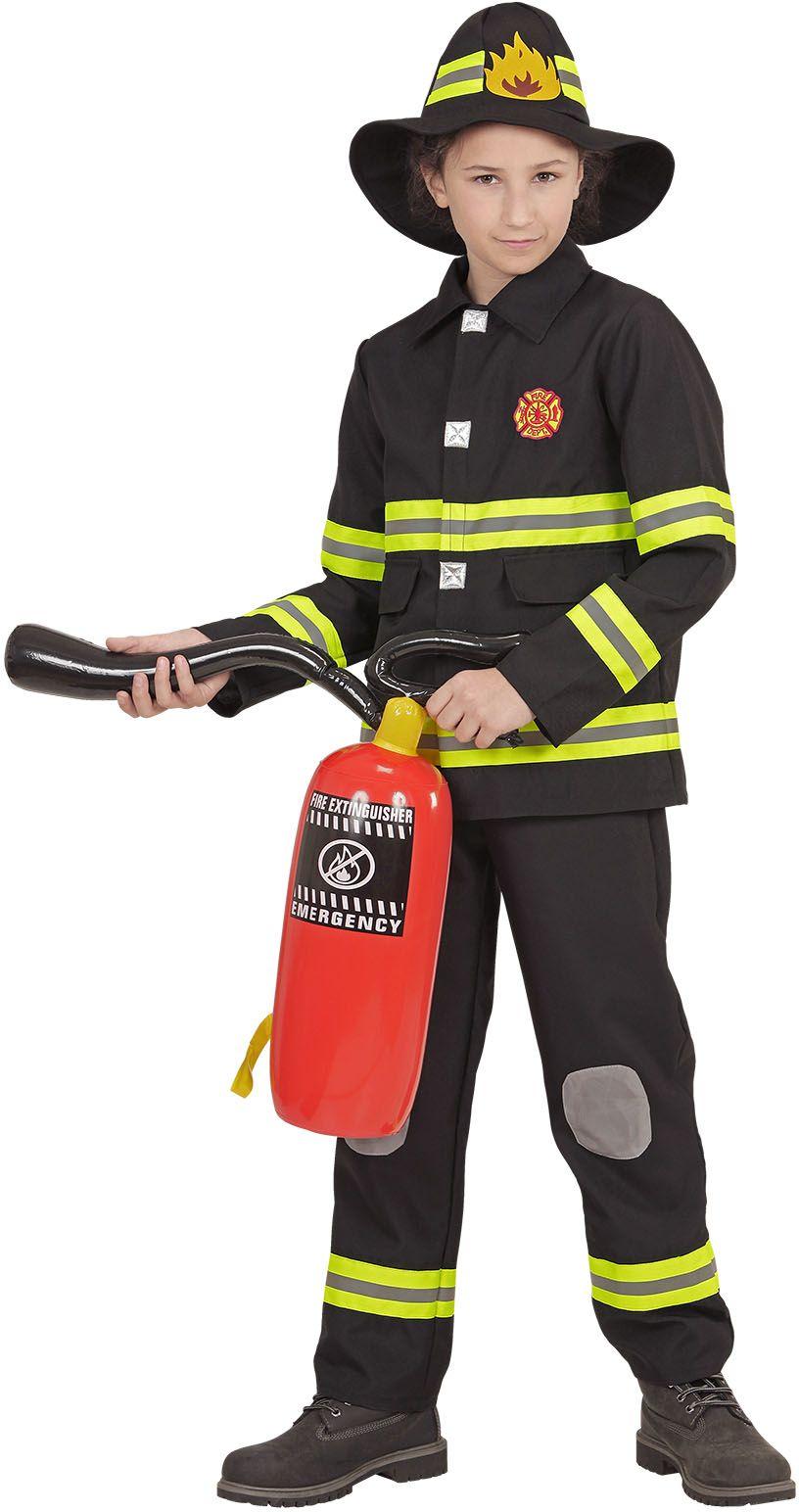 Brandweer carnaval kind