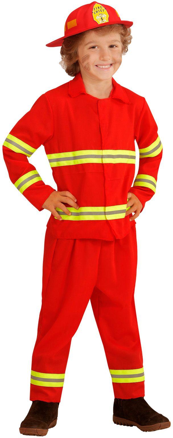 Brandweer kleding kind