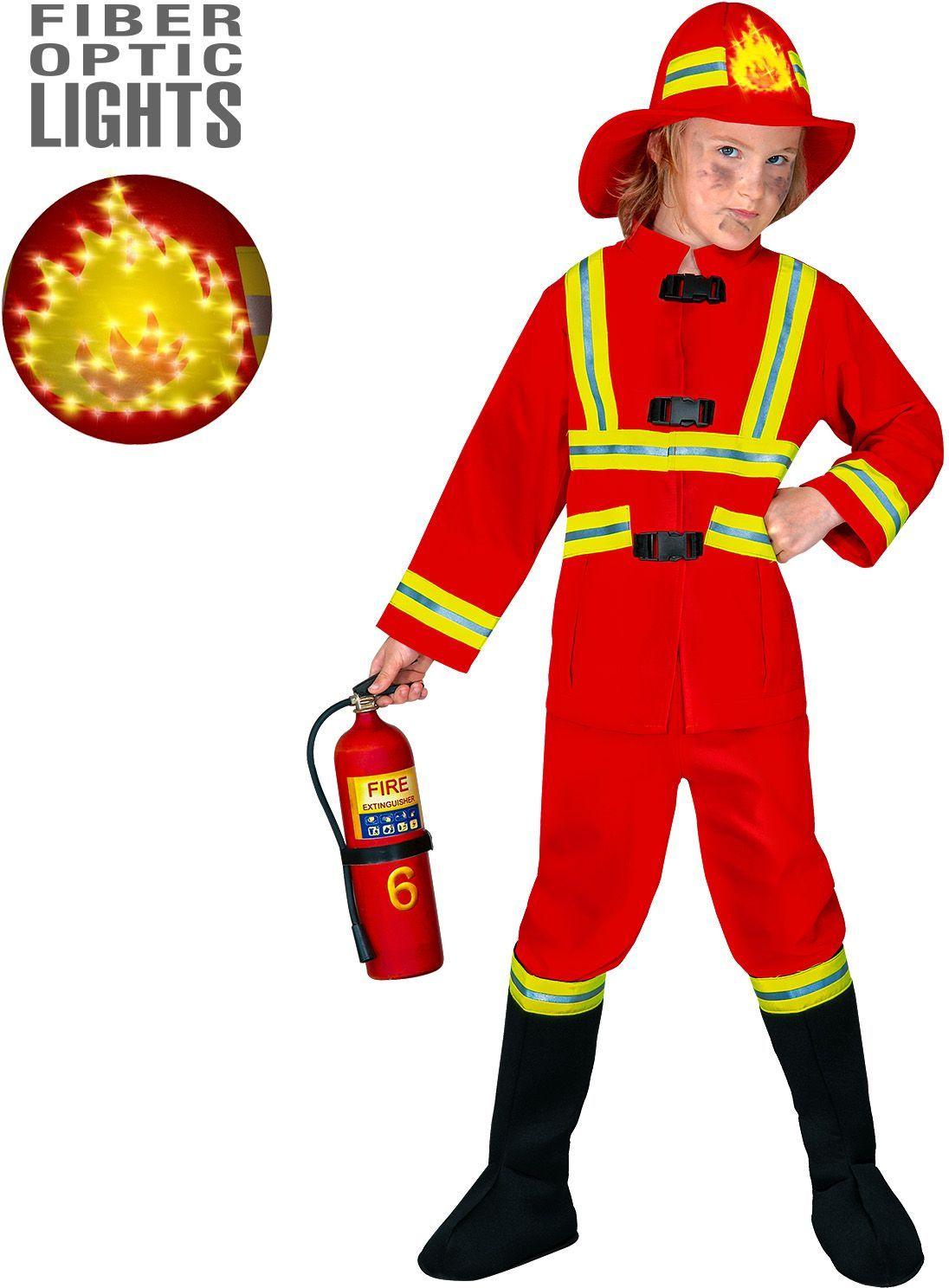 Brandweer pak kind