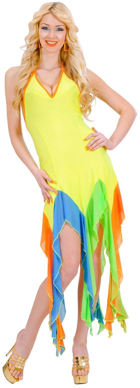Braziliaans jurkje geel