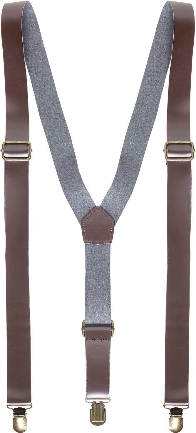 Bretels bruin