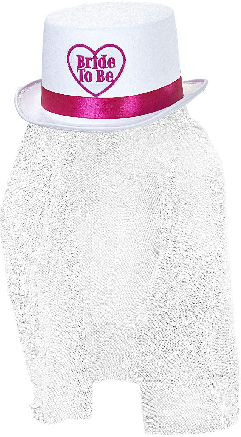 Bride-to-be hoedje met sluier