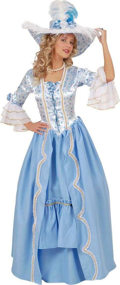 Britse hofdame jurk