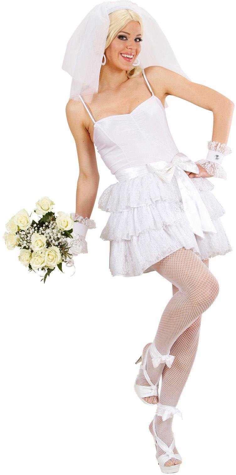 Bruid kostuum