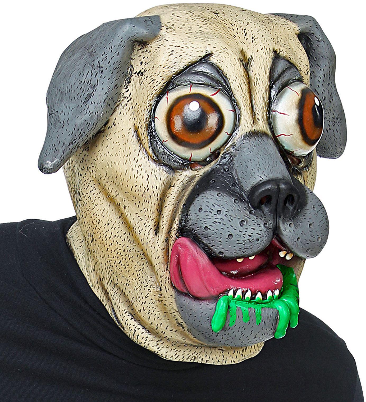 Bulldog hond masker