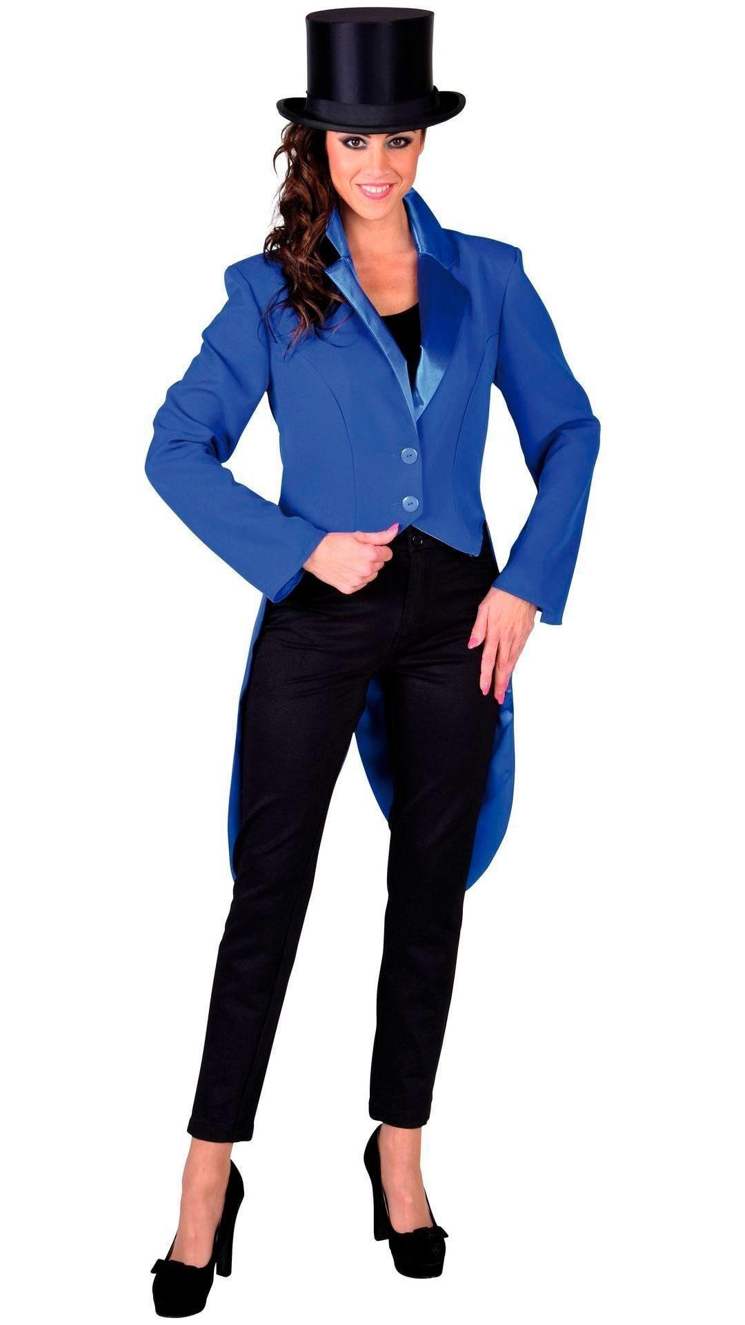Cabaret slipjas blauw vrouwen