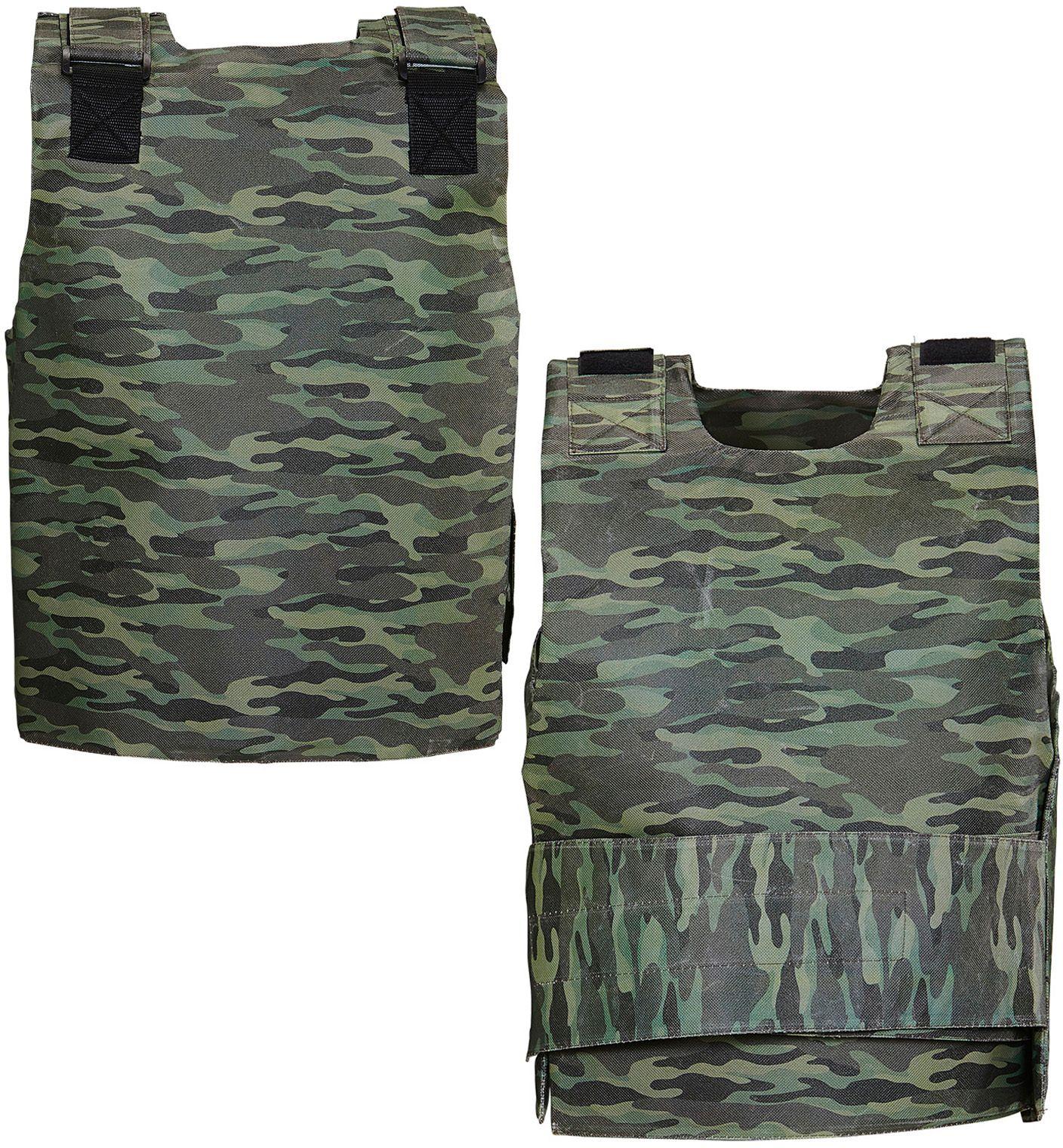 Camouflage kogelvrij vest