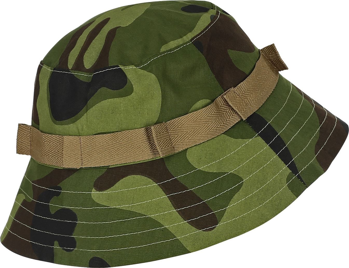 Camouflage leger muts