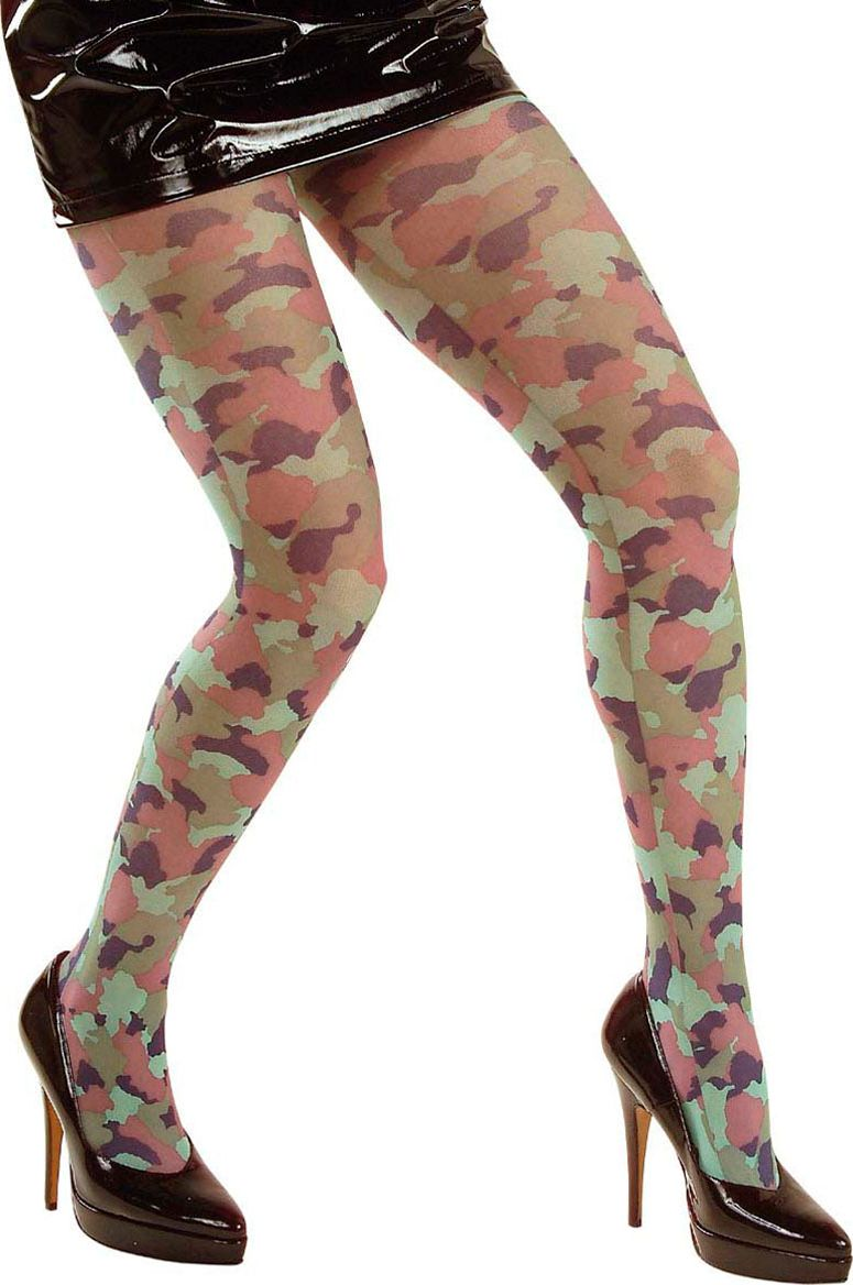Camouflage panty