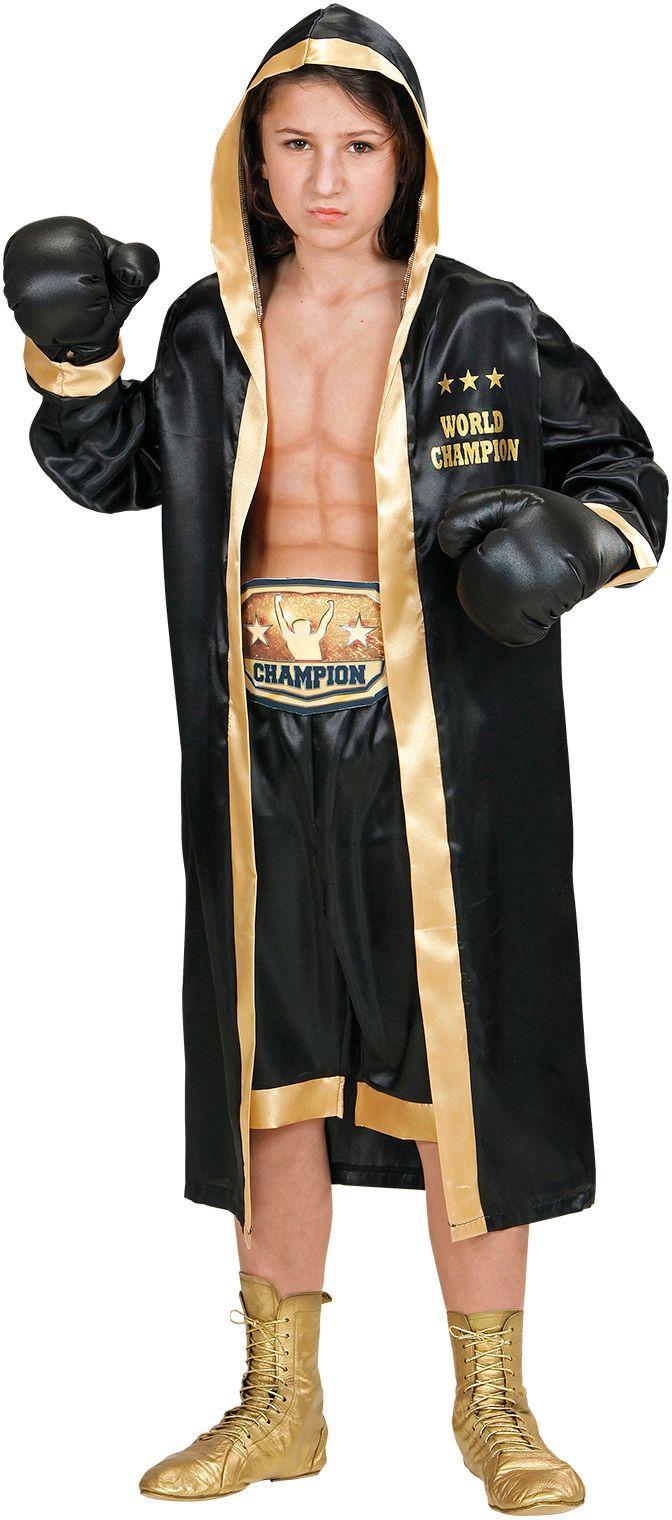 Carnaval bokser kostuum kind