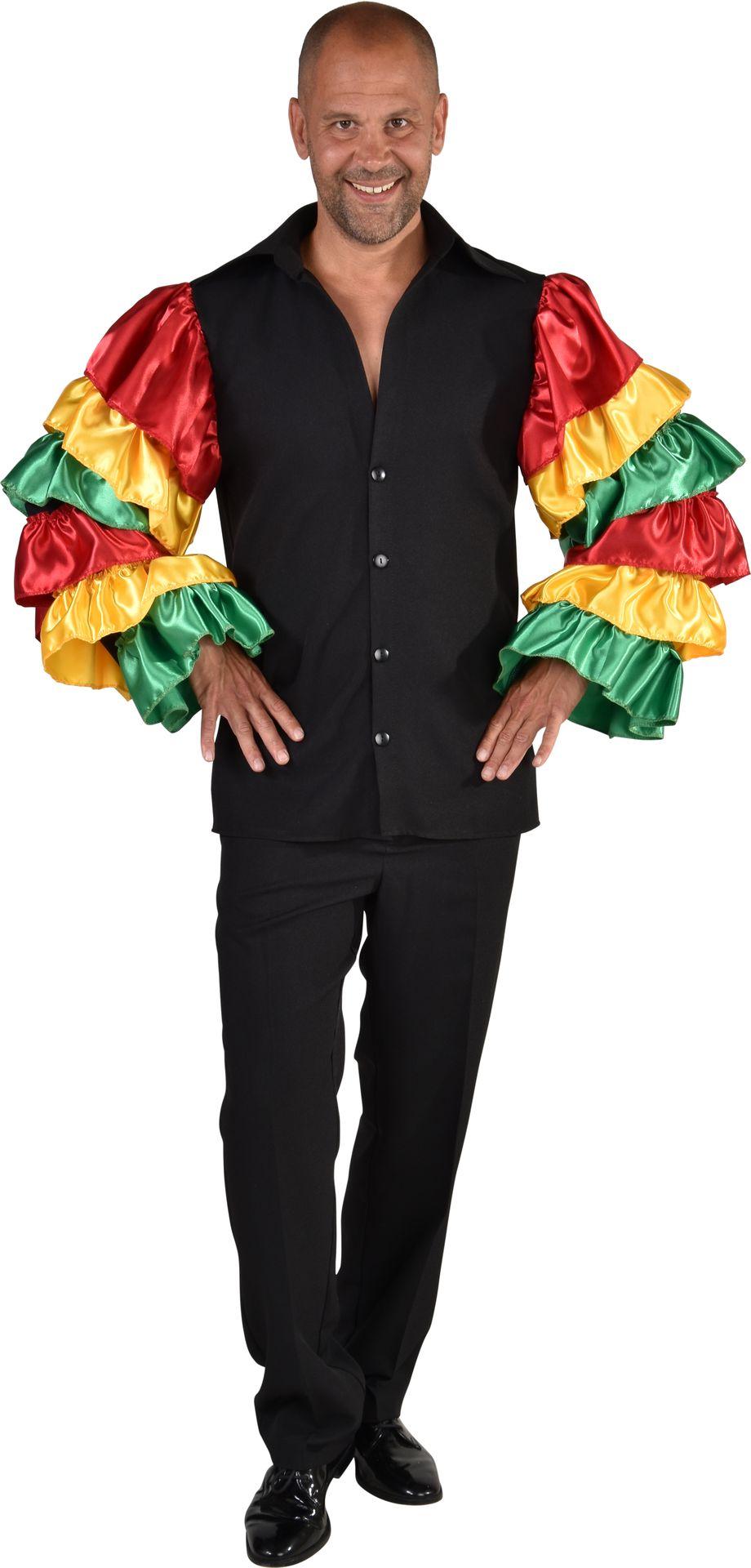 Carnaval Brazilië blouse mannen