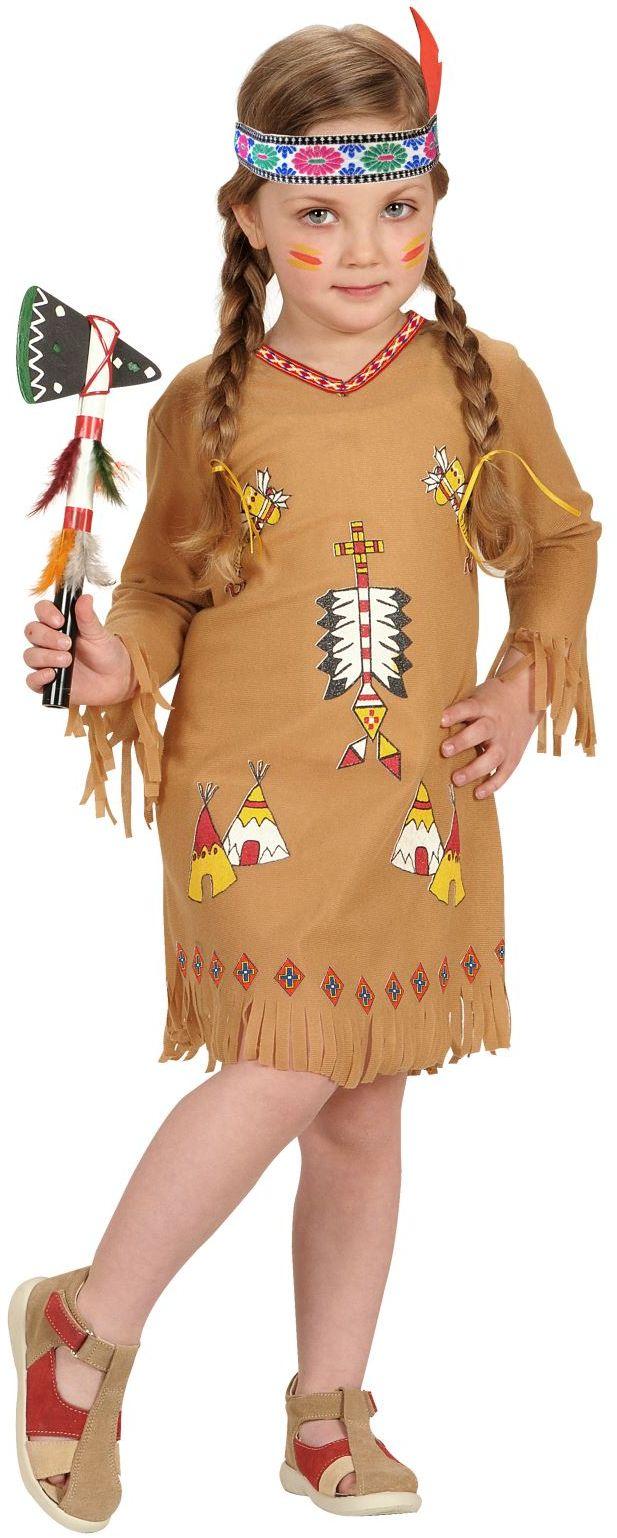 Carnaval indianen jurkje