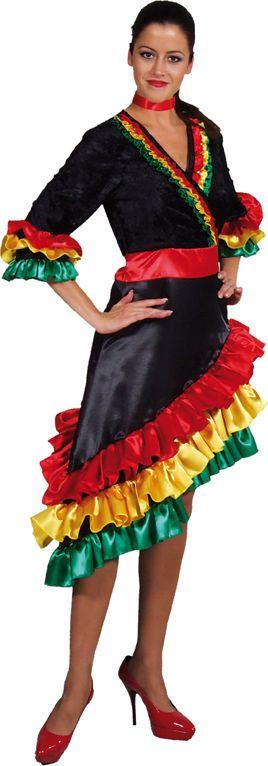 Carnaval jurk Brazilie dames
