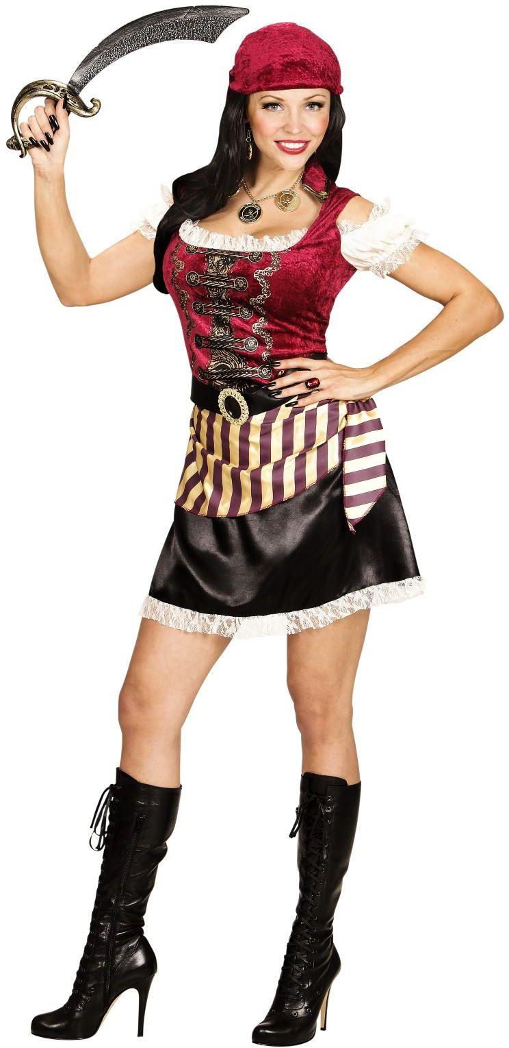 Carnaval piraat vrouw