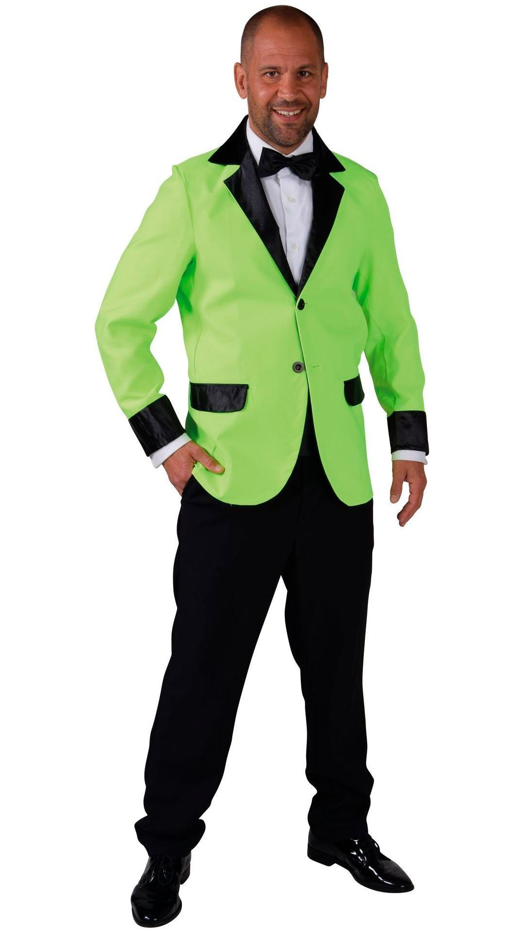 Carnavals colbert groen heren
