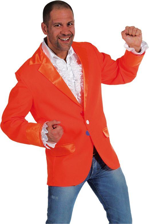 Carnavals colbert oranje mannen