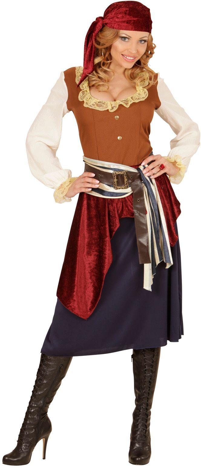 Carnavalskleding piraat dames