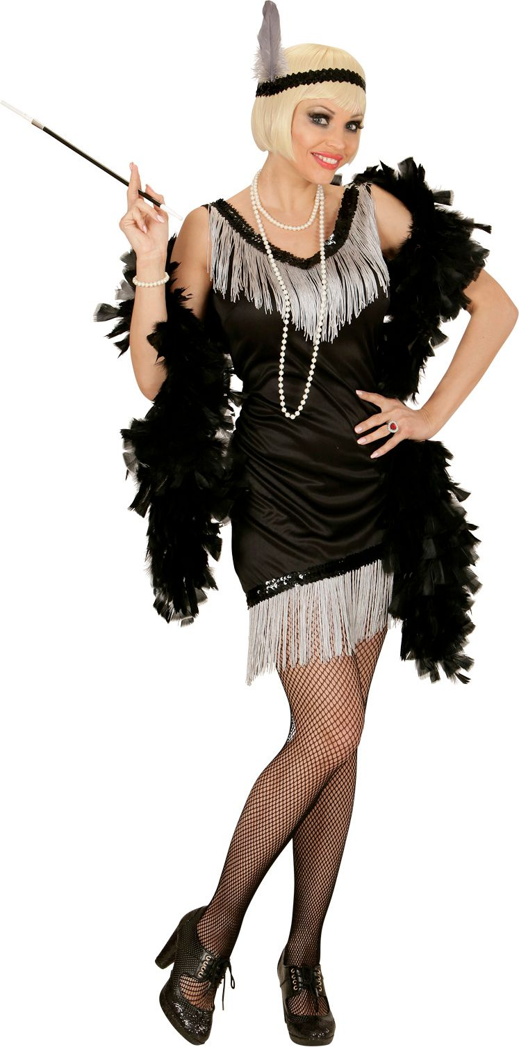 Charleston flapper jurk