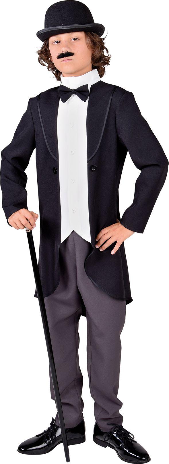 Charly Chaplin kostuum jongens
