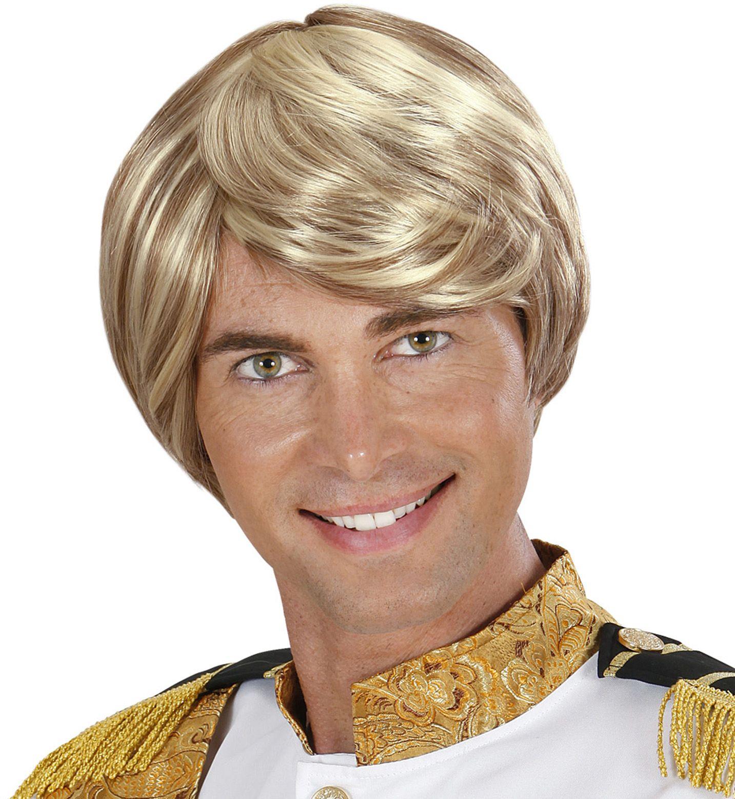 Charmante pruik blond