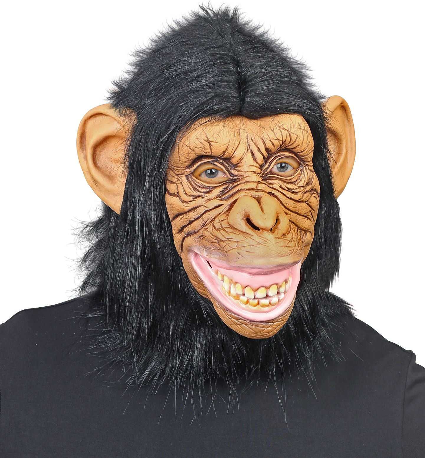 Chimpansee apen masker bruin heren
