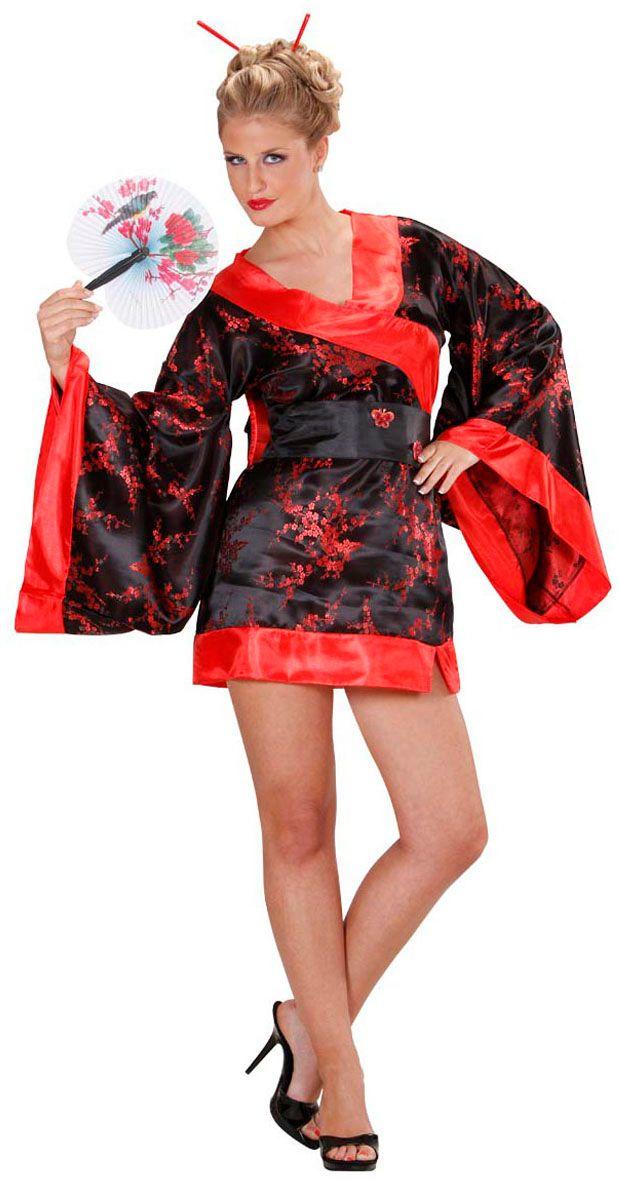 Chinese kimono jurk