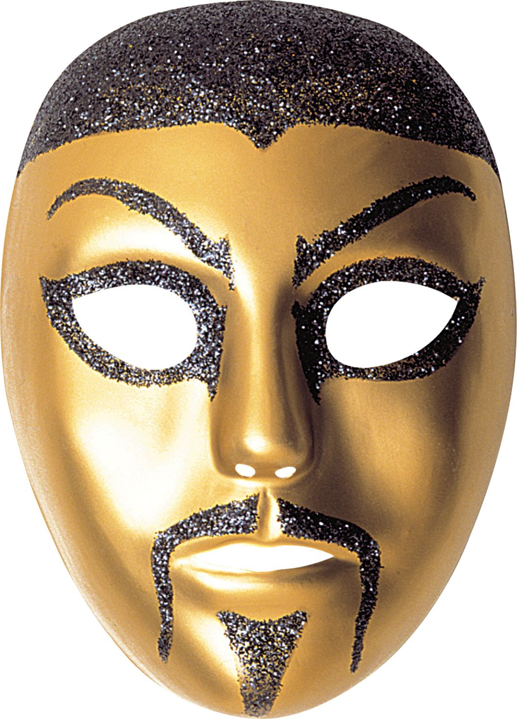 Chinese man glitter masker
