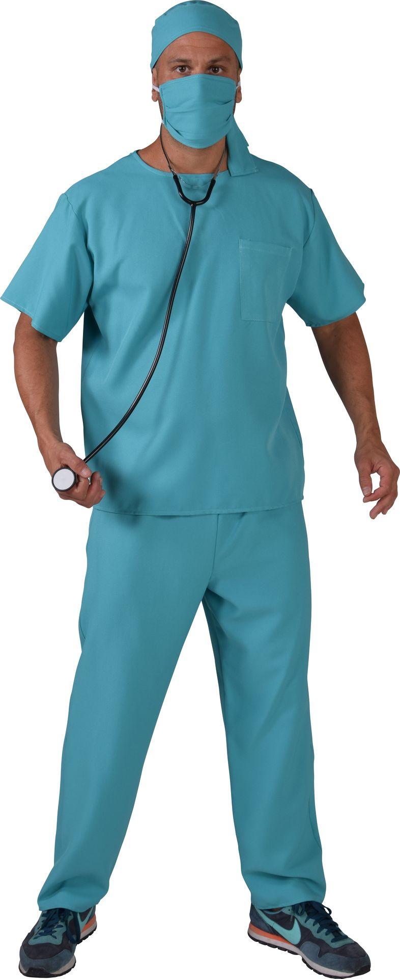 Chirurg pak blauw mannen