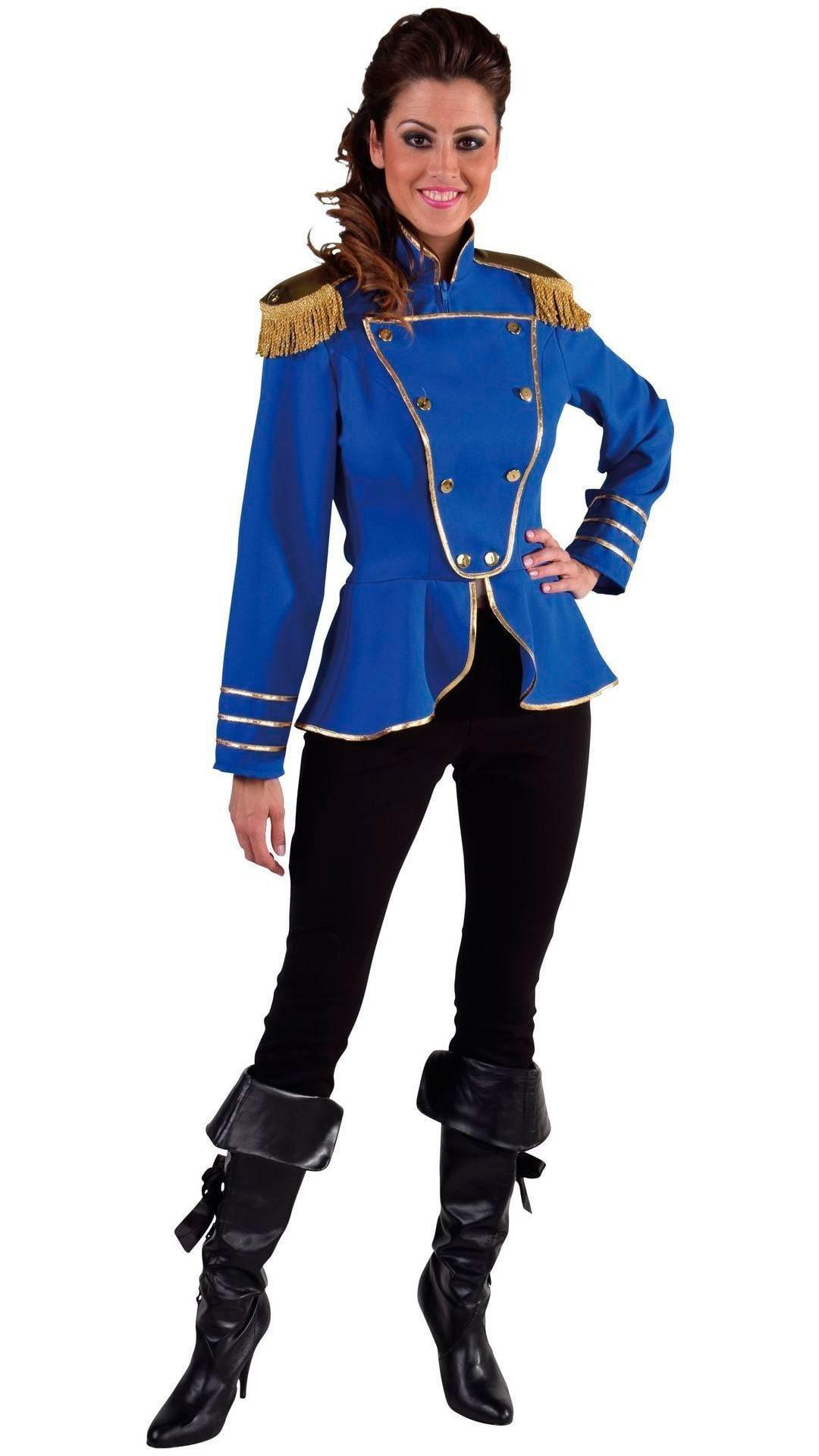 Circus jas blauw dames