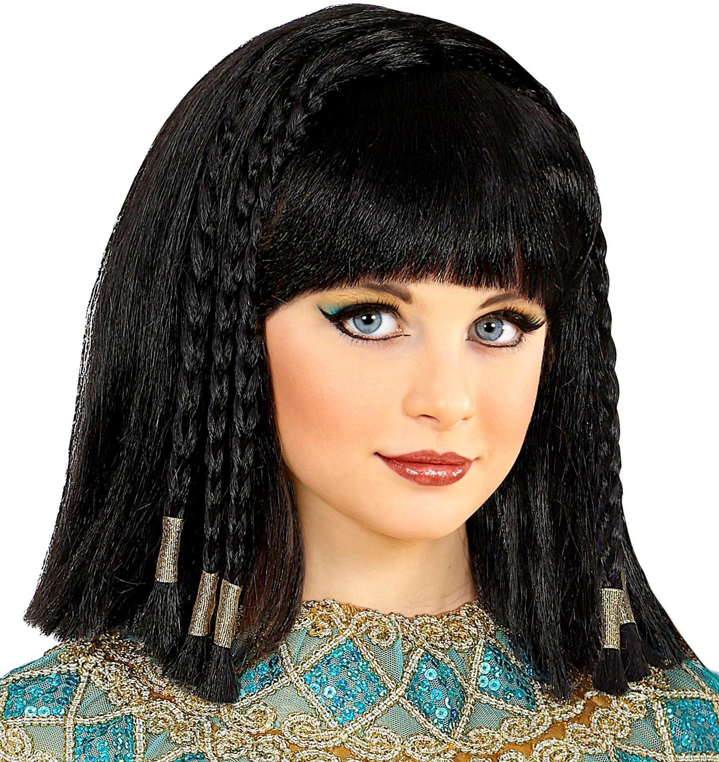 Cleopatra Egypte pruik meisjes