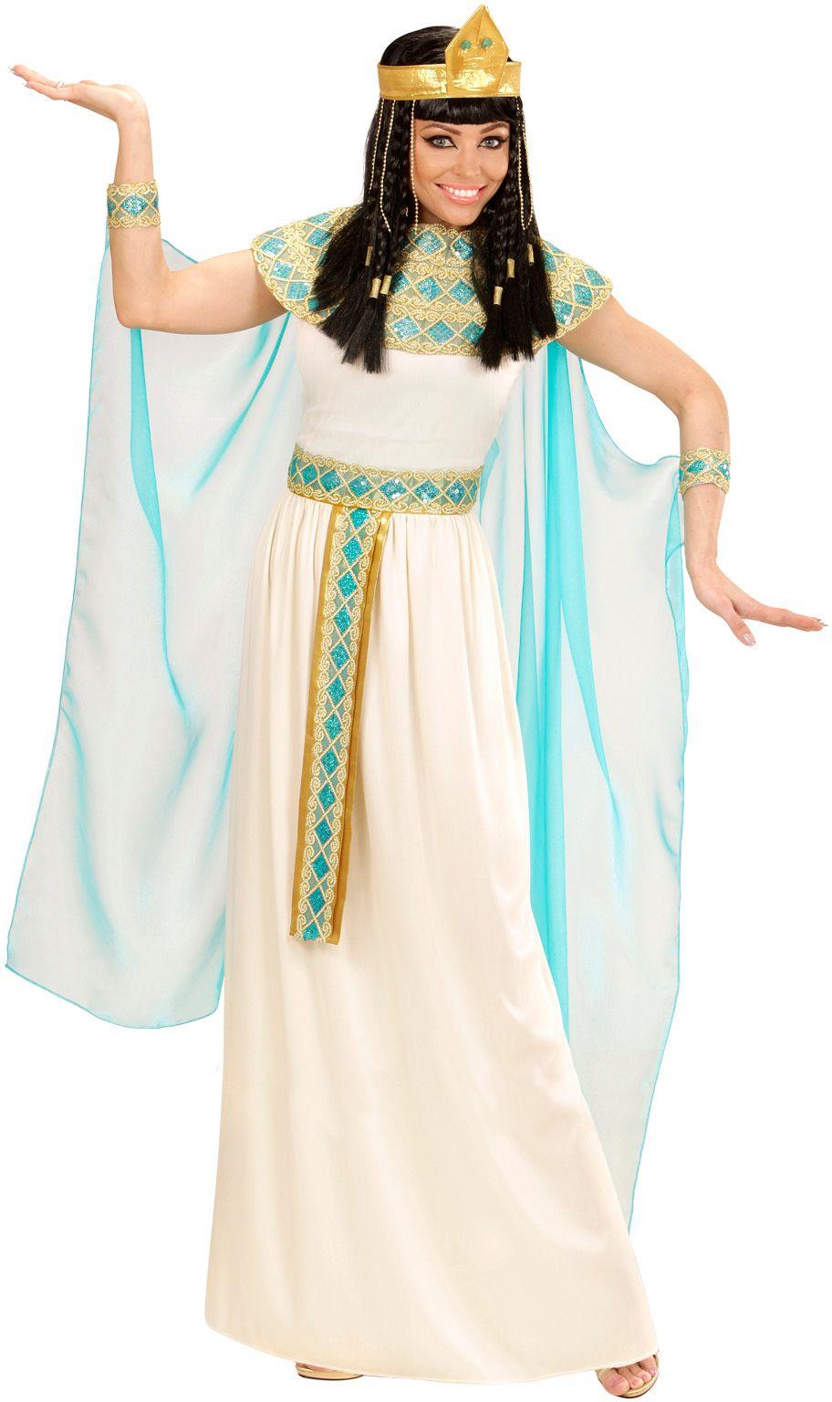 Cleopatra jurk wit