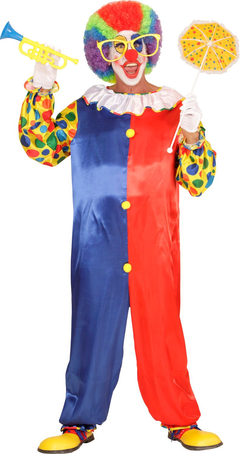 Clown carnaval overall