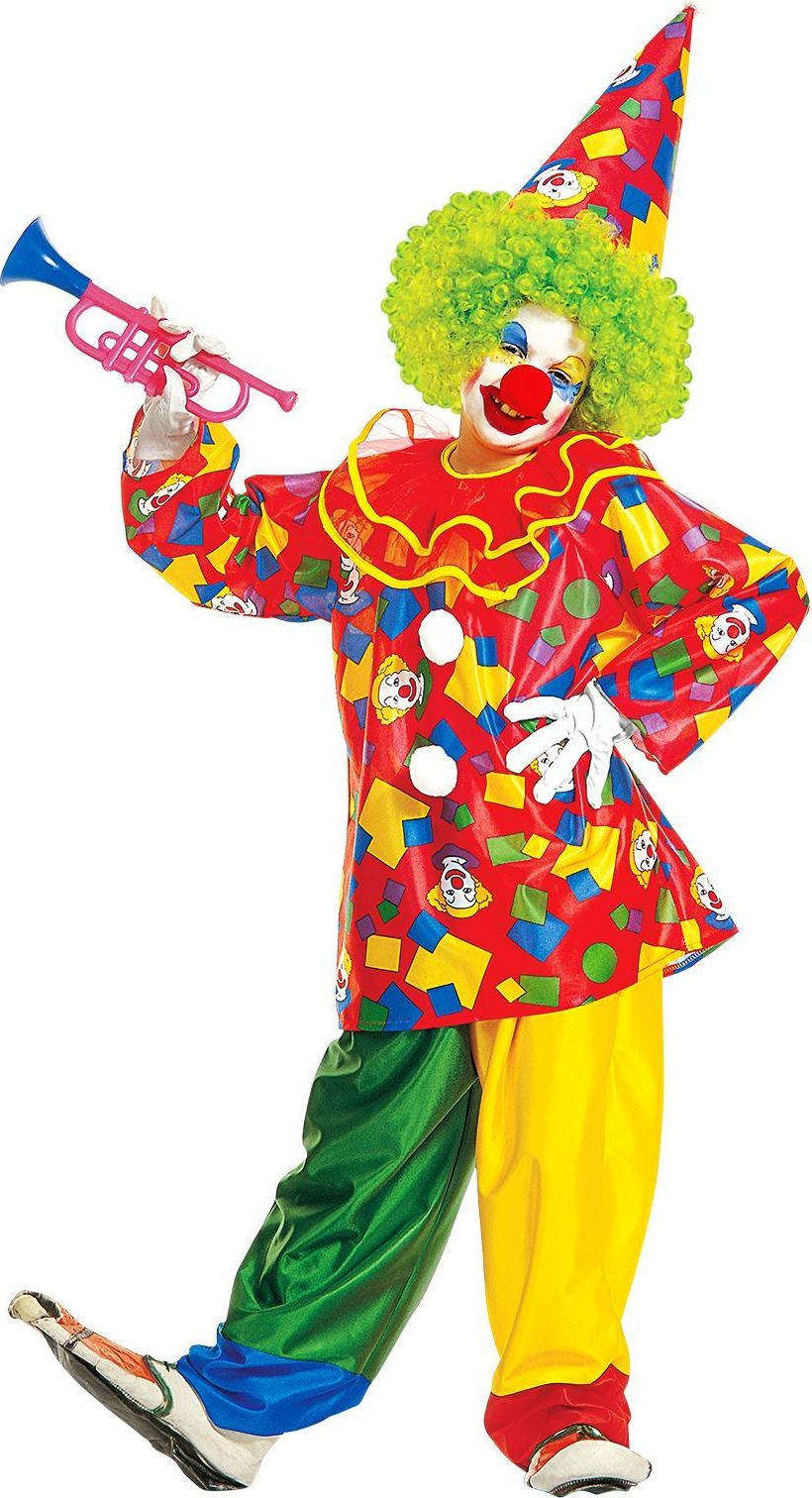 Clown kleding kind