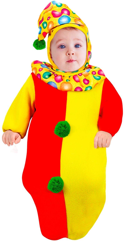 Clown pakje baby