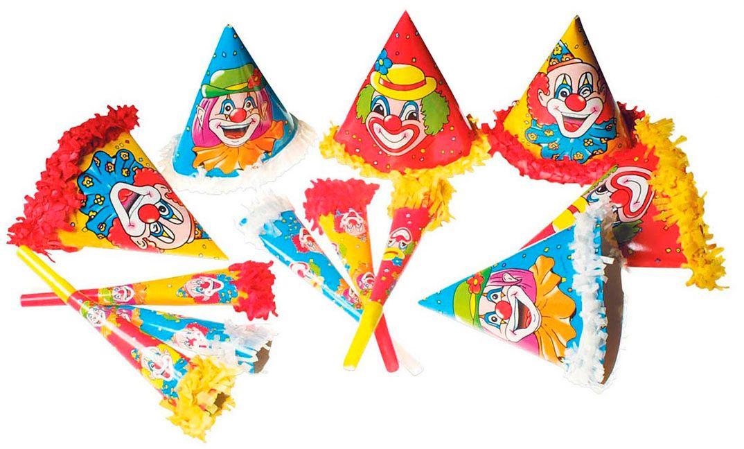 Clown party setje