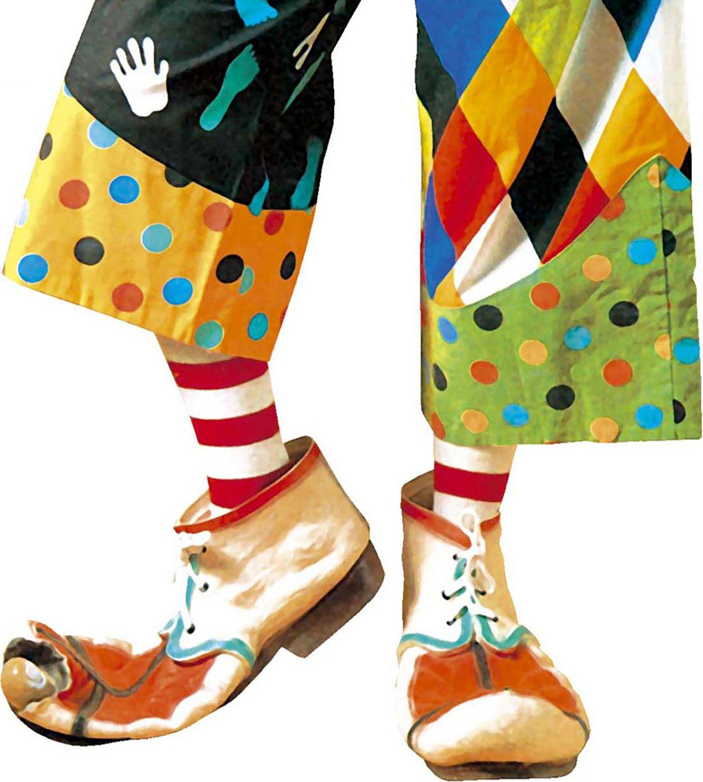 Clown schoenen kind