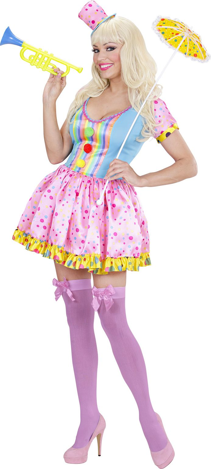 Clown vrouw