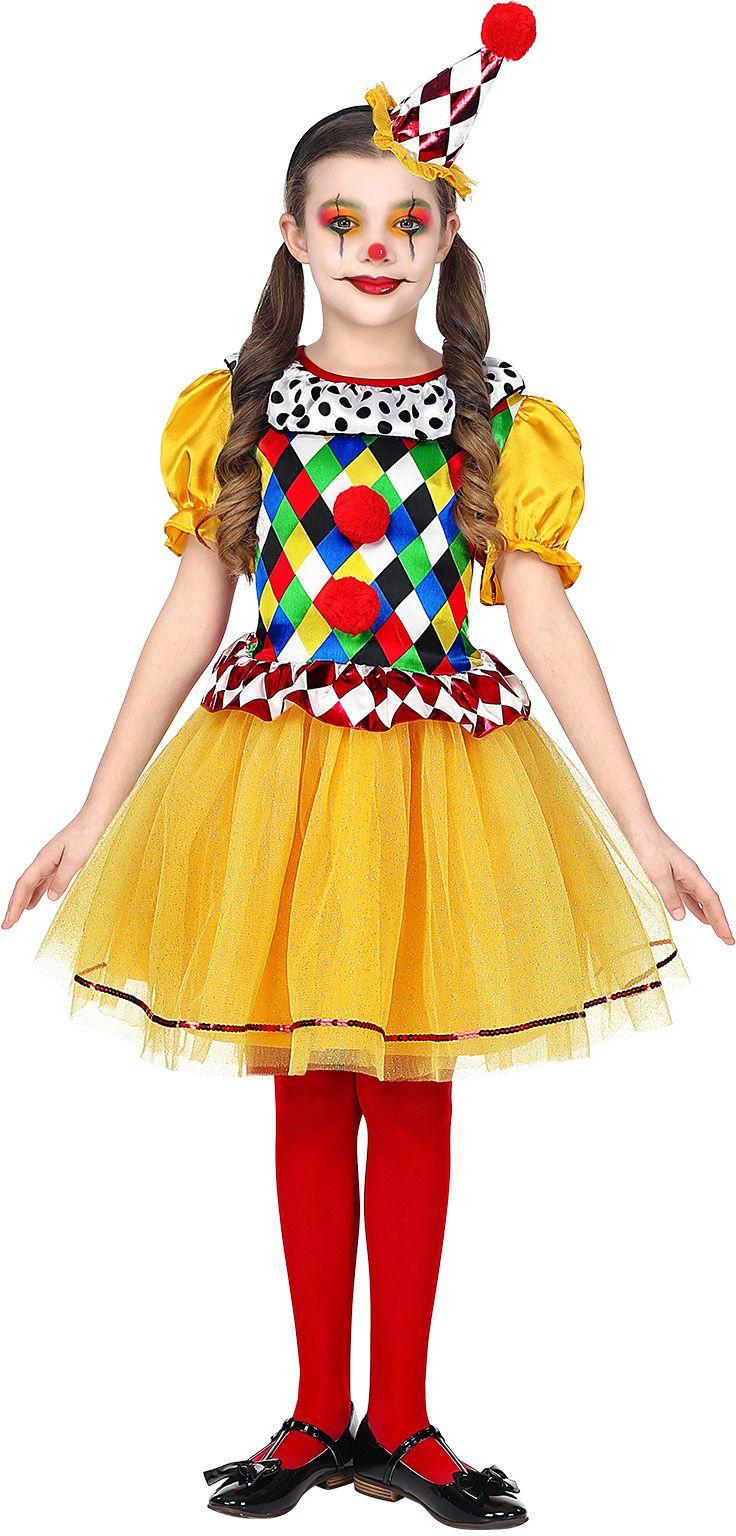 Clowns jurkje meisje