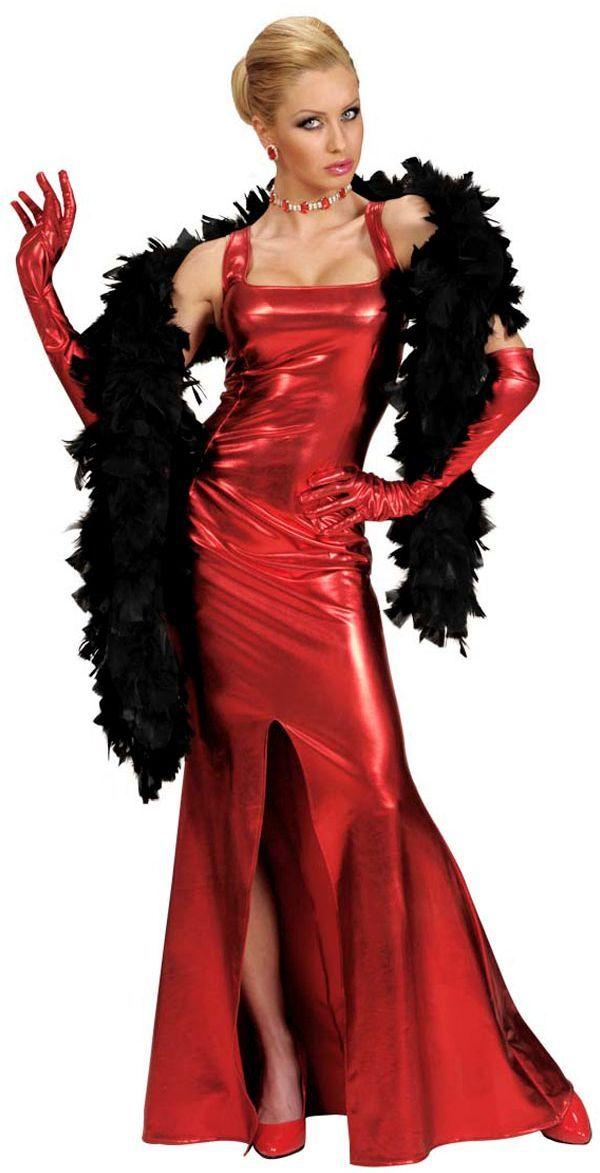 Cocktail jurk rood