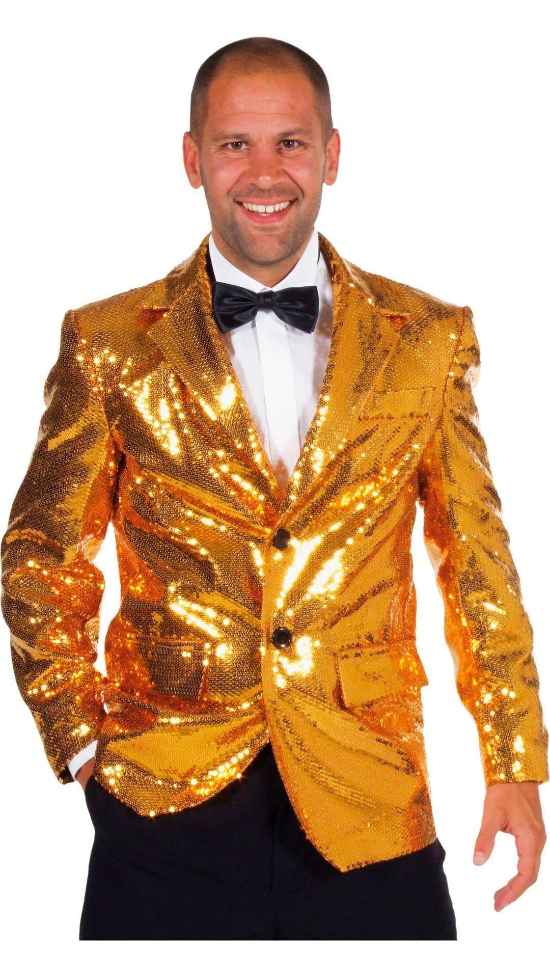 Colbert goud gevoerd mannen